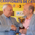 Josep Llaó (vicepresident FCF) i Josep Ramon Vigueras (president CF Martorell)