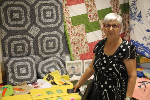 Mari Terrón, alumna patchwork