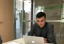 Adrián Arrebola, integrant del projecte Atípics, del SOC