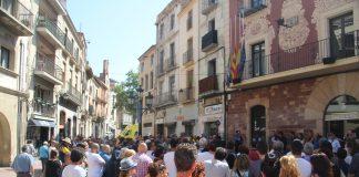 Minut de silenci per l'atemptat de Barcelona