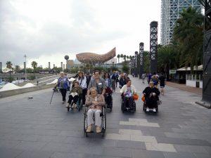 Setmana Gran de la Residència Sant Joan de Deu. Excursió a la Vila Olímpica