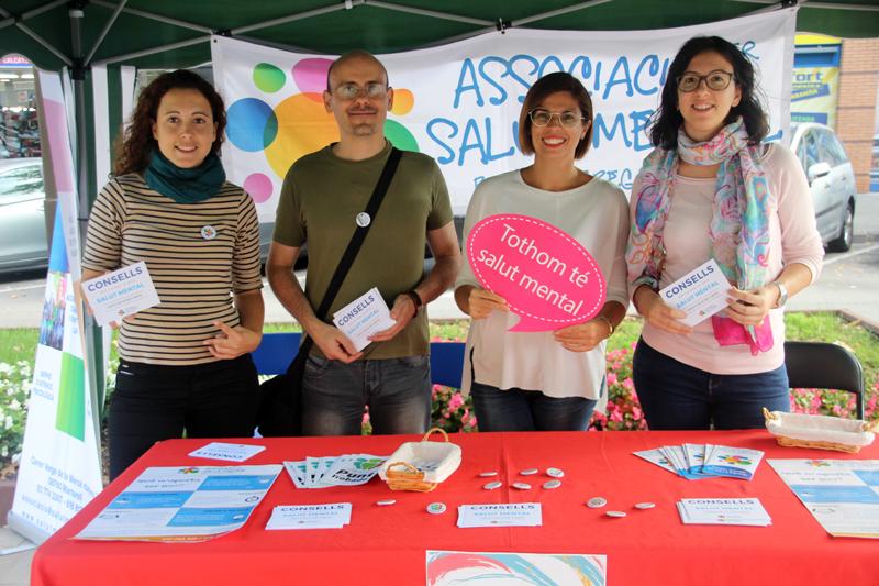 Associació per la Salut Mental del Baix Llobregat Nord. Dia Mundial de la Salut Mental