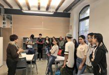 Alumnes del PFI-PTT al Molí Empresa