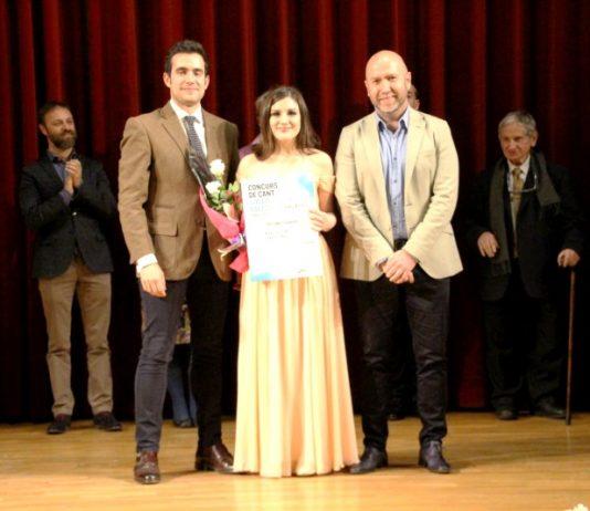 Catalina Paz al 1r Concurs de Cant Josep Palet