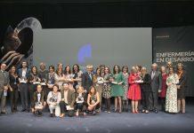 Guanyadors dels premis 'Enfermería en Desarrollo'
