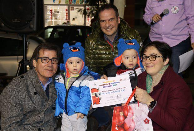Pau i Víctor Ruiz recullen el premi 'Martorell Saludable'