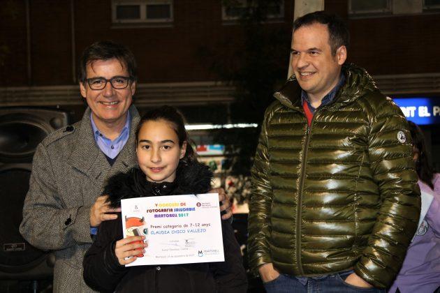 Claudia Chico recull el premi 'Martorell Saludable'