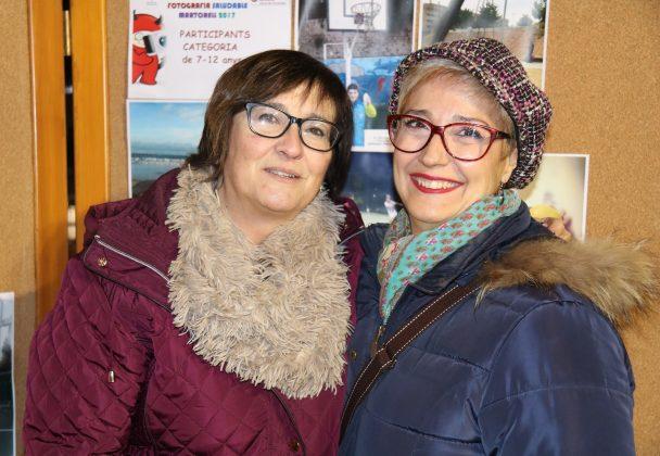 Montse Navarro i Núria LLofriu, treballadores Regidoria Salut