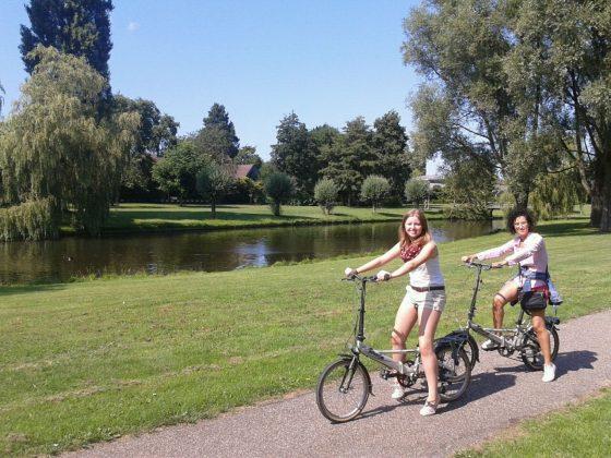 'Passejant en bicicleta per Holanda' de Meritxell Pons (13-17 anys)