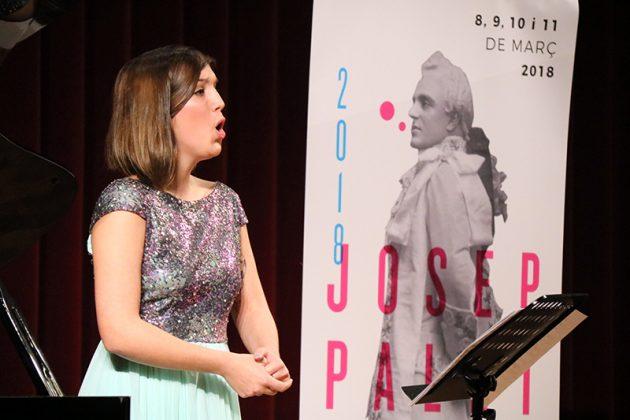 Paula Sánchez-Valverde, guanyadora del 2n Concurs de Cant Josep Palet