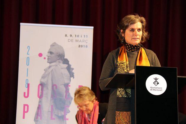Mònica Pagès, presentadora de la Final del 2n Concurs de Cant Josep Palet