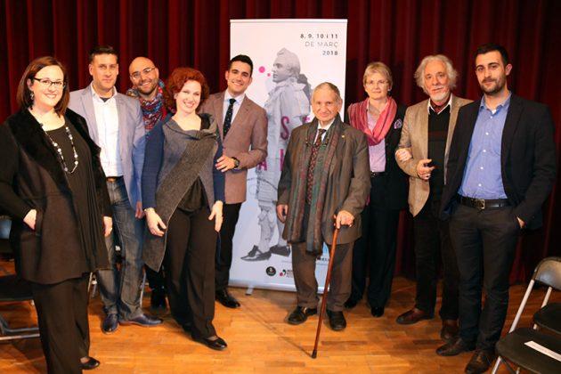 El jurat del 2n Concurs de Cant Josep Palet
