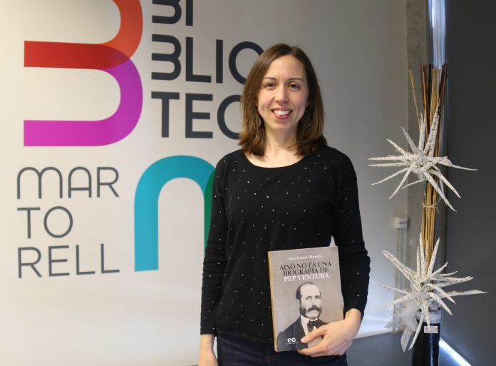 Anna Costal, autora 'Això no és una biografia de Pep Ventura'