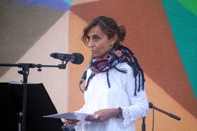 Acte commemoratiu de l'1-O d'Òmnium Cultural. Esther de la Cruz