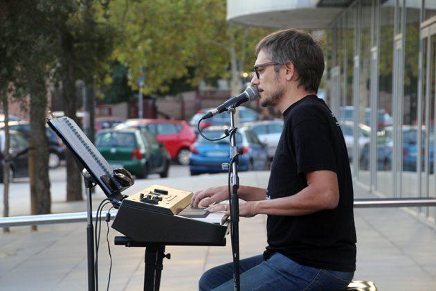 Acte commemoratiu de l'1-O d'Òmnium Cultural. Xavier Pagès
