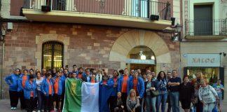 Recepció als participants dels Special Olympics