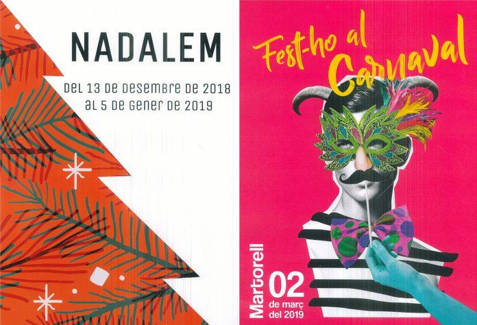 3r Concurs de Cartells Nadalem i Carnaval