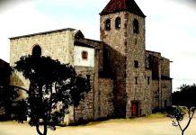 Recreació de l'antiga església parroquial de Martorell