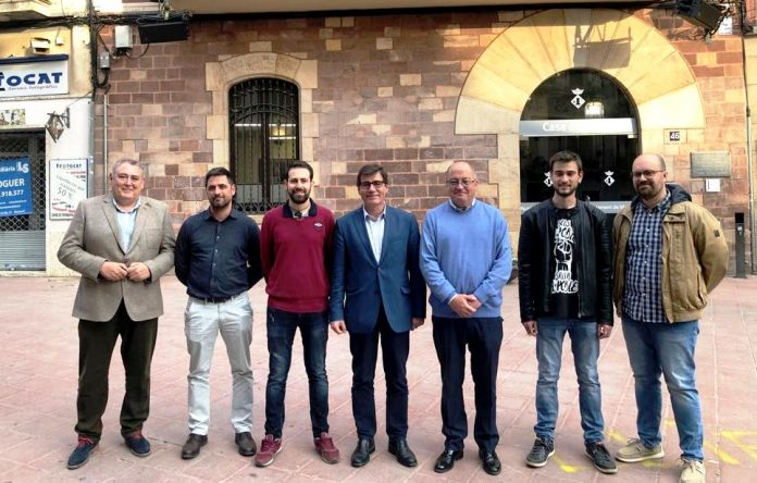Juan José Pérez (Cs), Vicente Casal (PP), Xavier Sáez de Cortázar (MM), Xavier Fonollosa (JxM), LLuís Tomàs (PSC), Víctor de León (ERC) i Oriol Bosch (SPM)