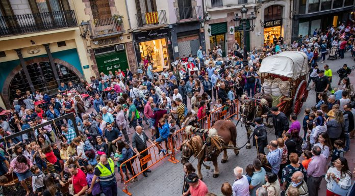 Festa del Roser. Cercavila del Most (Fotografia: Grisphoto)