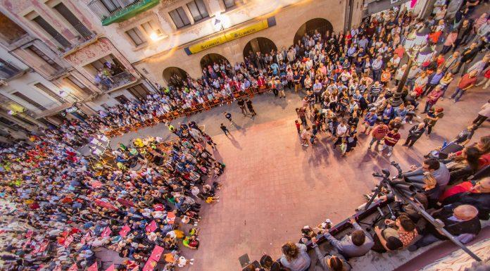 Festa del Roser. Pregó (Fotografia: Grisphoto)