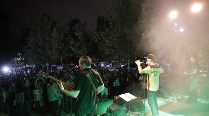 Festa del Roser. Concert de Van'D'Bolo (Fotografia: Grisphoto)