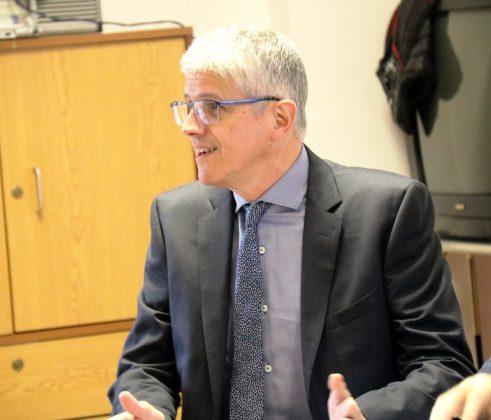 Fernando Boatas, coordinador d'Atenció Comunitària en Salut Mental del Baix Llobregat Nord de l'Hospital Sagrat Cor de Martorell