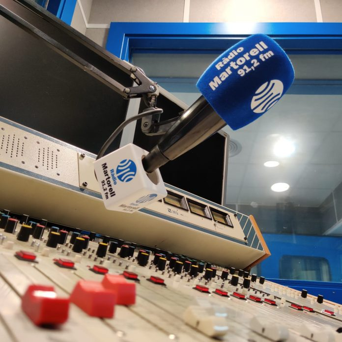 Ràdio Martorell. Foto: F. Xavier Borràs