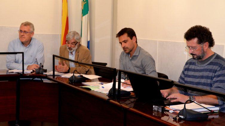 Gerard Mimó, Valentí Santos, Gerard Franch i Joan Bou