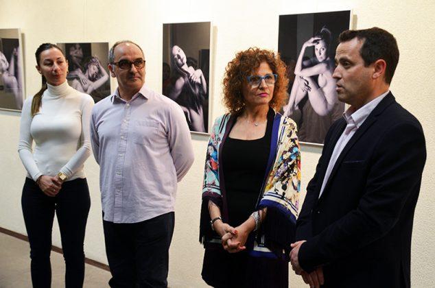 Exposició '23 dones celebren el seu cos'. Plaza, Amat, Cruz i González