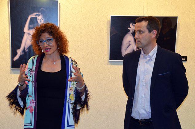 Exposició '23 dones celebren el seu cos'. Glòria Cruz i Andreu González