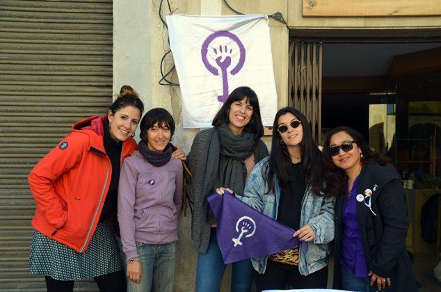 Dia Internacional de les Dones. Col·lectiu Feminista