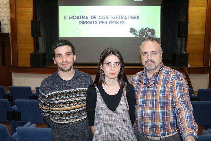2a Mostra de curtmetratges dirigits per dones. Noel Puigdollers, Anna Lati i Javier Vega, de Cinema del Diable