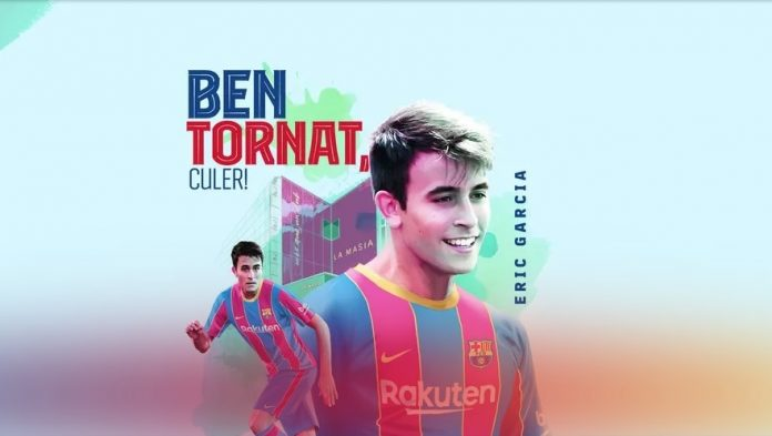 Eric Garcia (imatge: FC Barcelona)