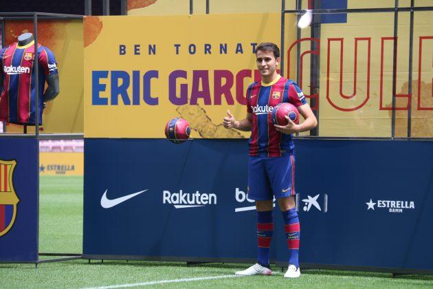 Presentació Eric Garcia